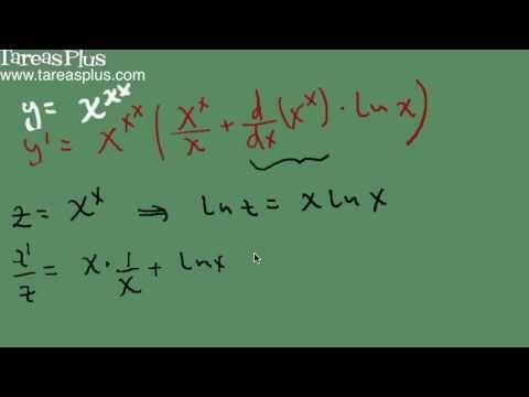 Derivación logarítmica parte 2