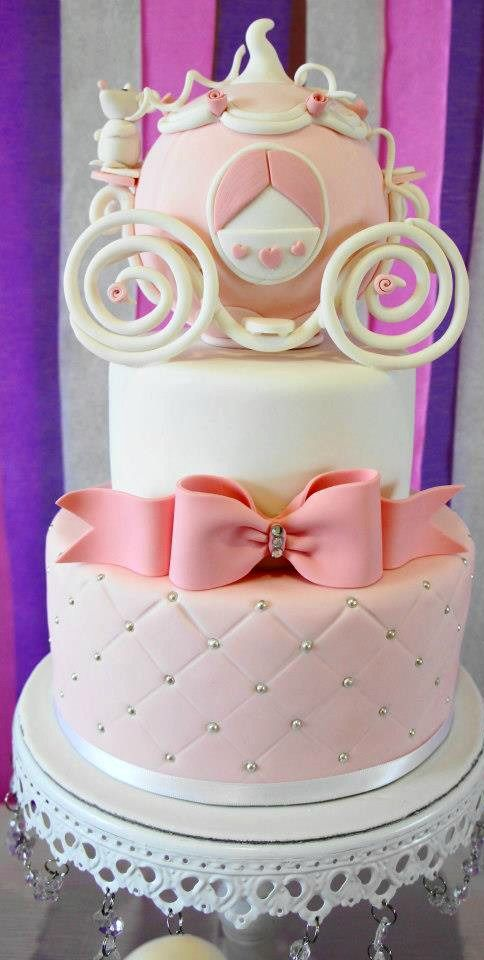 Princess Themed Cake: