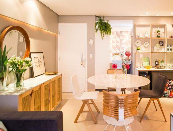 Sala de jantar super moderninha!