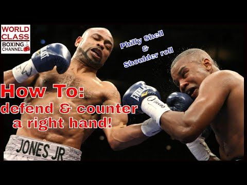 Boxing Training How To Defend And Counter A Right Hand Pt 1 Philly Shell Shoulder Roll Defense Youtube Boxer Workout Boxing Training Boxing Workout
