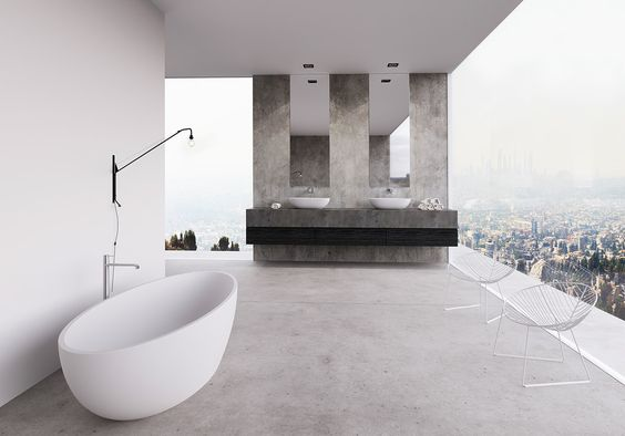 Home Designing — (via 36 Bathtub Ideas With Luxurious Appeal)