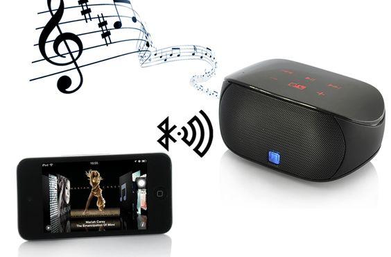 Bluetooth Mini Boombox - 3Watt, Touch Control, Mic
