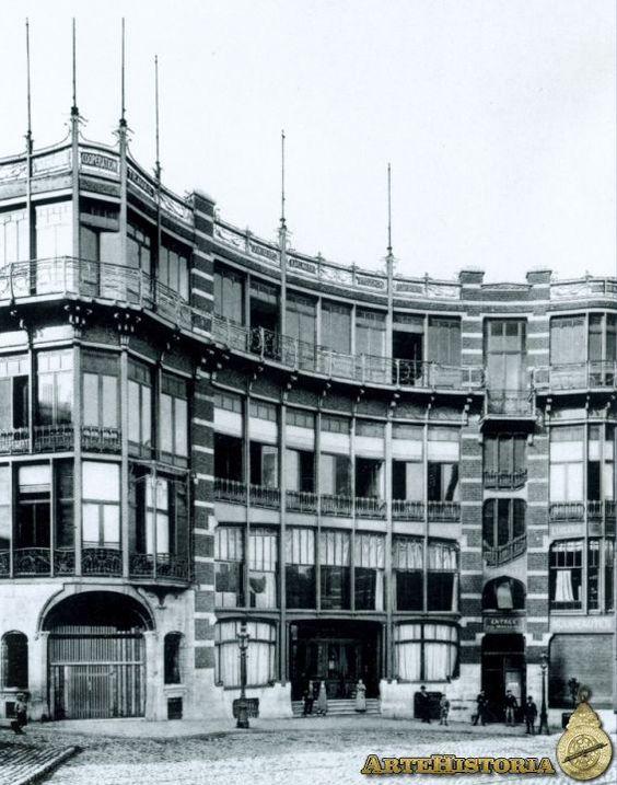 Casa Del Pueblo De Bruselas Victor Horta Architecture