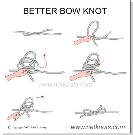 Better Bow Knot - How to tie a Better Bow Knot