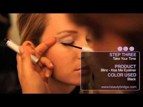 How to apply liquid eyeliner  http://www.applyingeyeliner.net