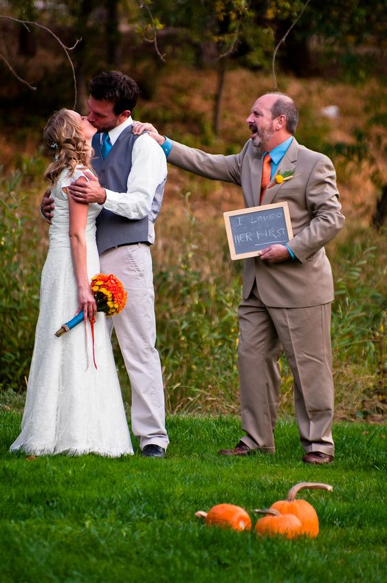 From my daughter's October wedding. #OctoberWeddingIdeas