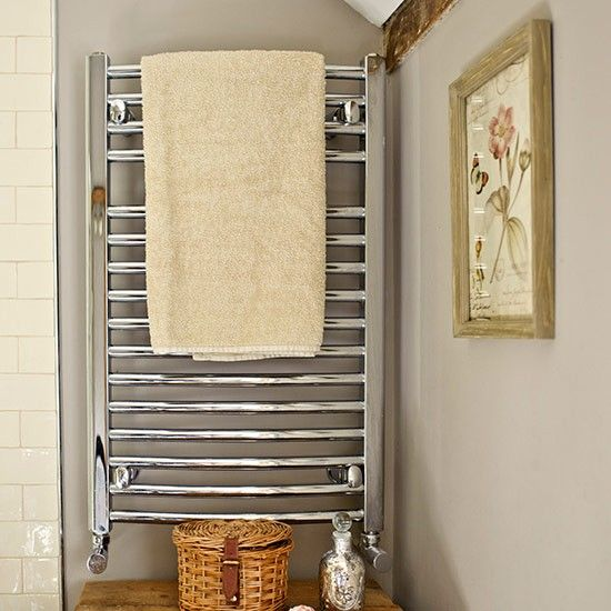 Christy Plush Bath Mat In Heated Towel Rail Wall Panelling And Radiators
