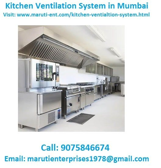 Pin By Maruti Enterprises On Kitchen Ventilation System In 2020