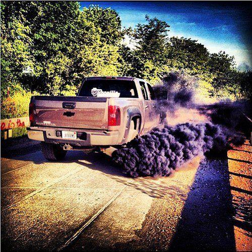 rolling coal...