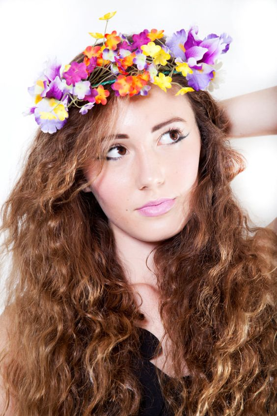 Gorgeous Summer Flower Crown by FilthyRichBeautiful on Etsy