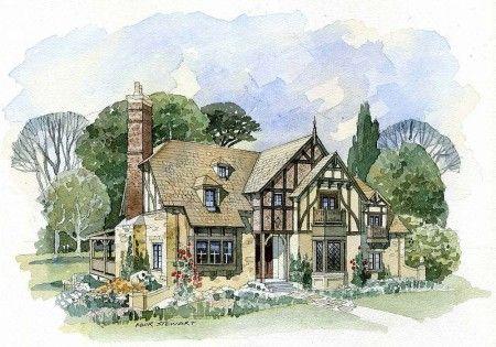 fantasy cottage plans - Google Search