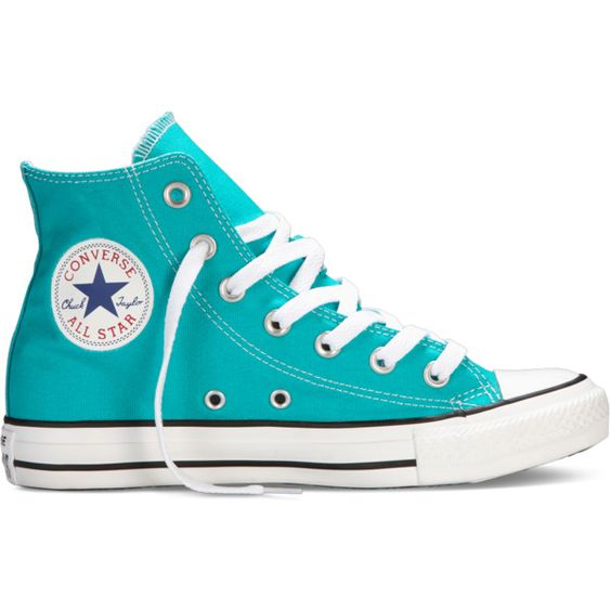 Converse Chuck Taylor All Star Fresh Colors Sneakers ($55) found on Polyvore