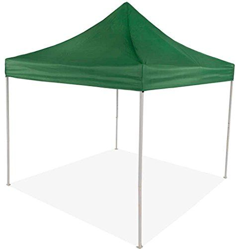 Impact Canopy 10 X 10 Pop Up Canopy Tent Instant Outdoor Gazebo Shelter With Recreational Steel Frame Green Review