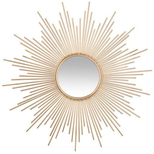 Pour Vous Ce Miroir Soleil Jaune Sera Parfait Elegant Et Decoratif Il Saura Vous Ravir Alors N Hesitez Miroir En Forme De Soleil Miroir Soleil Miroir Deco