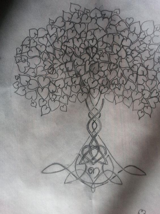 Arbre de vie tatoo pinterest recherche - Arbre de vie signification tatouage ...
