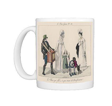 Photo Mug of Costume/bon Genre C.1816 from Mary Evans