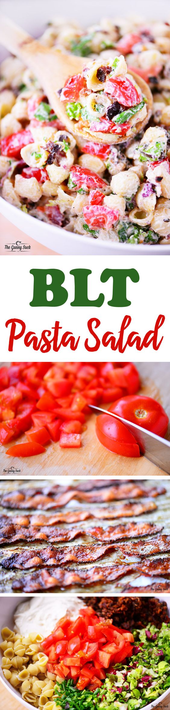 BLT Pasta Salad | Recipe | Blt Pasta Salads, Pasta Salad and Summer ...