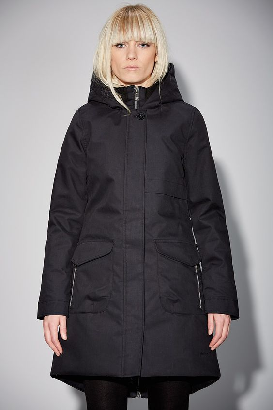 Elvine Monica Jacket Black - Elvine Shop | Winter Coats ...