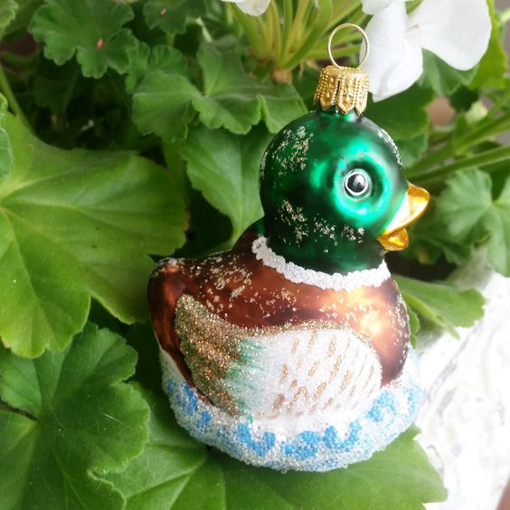 Kaczka Krzyzowka Ozdoby Choinkowe Bilinski 15 16 Zl Christmas Bulbs Christmas Ornaments Novelty Christmas