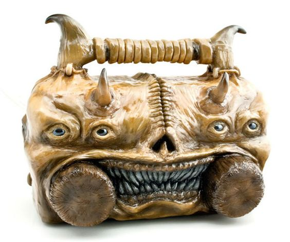 The Necronomicon Ex-Mortis Boombox Will Swallow Your Soul