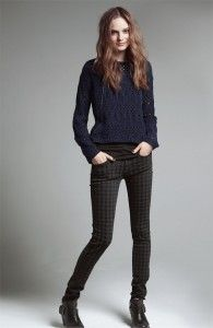 I need these houndstooth jeans!