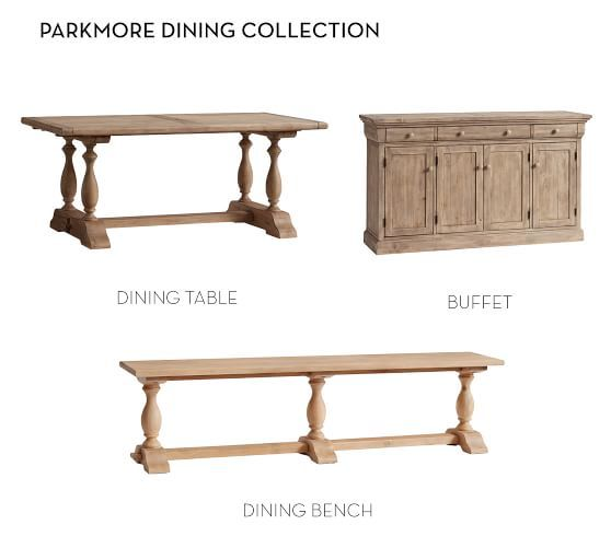 Parkmore Reclaimed Wood Extending Dining Table With Images