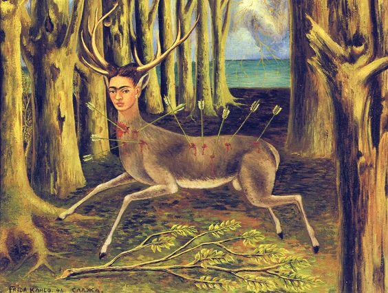 """""""The Little Deer"""", Frida Kahlo"""