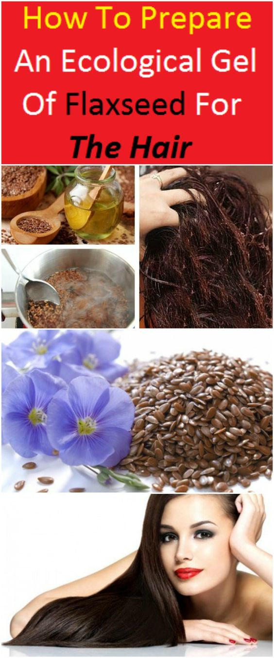 How To Prepare An Ecological Gel Of Flaxseed For The Hair
