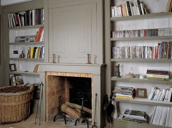 Bibliotheque Cheminee Chemin E Pinterest Belle D Co Et Salons