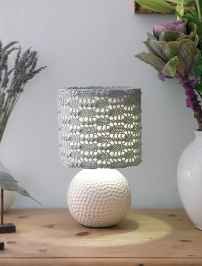 Brighten your world with Edison, our trendy lampshade cover by Lucinda Ganderton