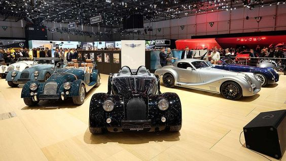 Morgan is actually a Celtic name, so it's fitting the car company named after it is based in Malvern... - Morgan