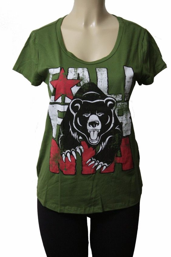 California Bear Flag Woman T Shirt | Bear Flag Museum