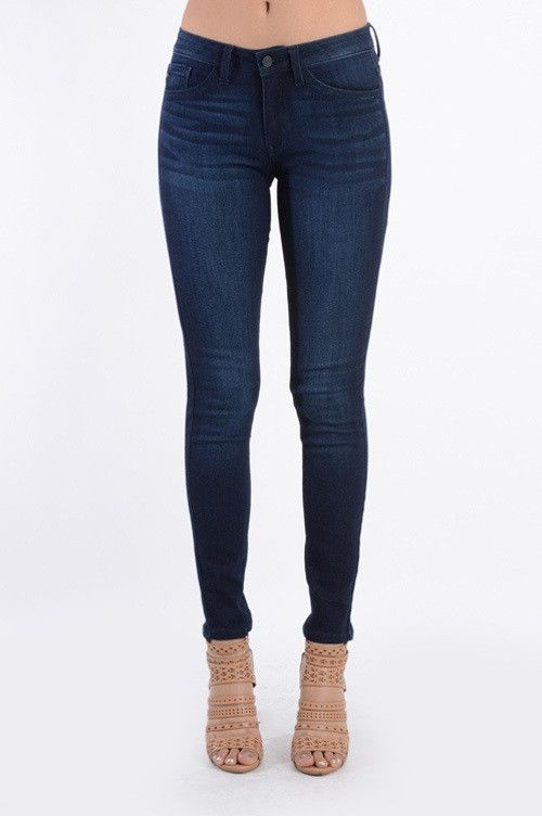 Stassi Dark Wash Skinny Jeans | Neutral colors, Colors and Dark jeans