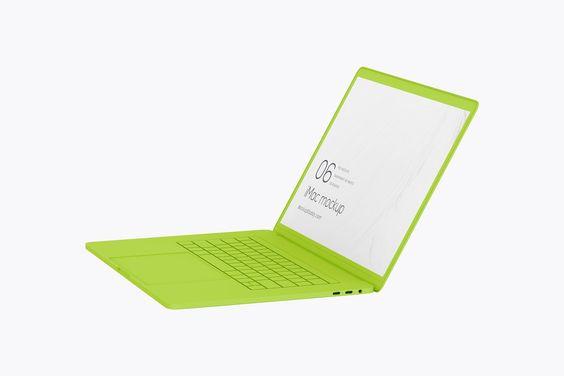 15 Macbook Pro Clay Mockups In 2020 Macbook Pro Typography Flooring
