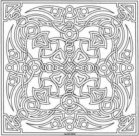 coloriage mandala pour adulte imprimer