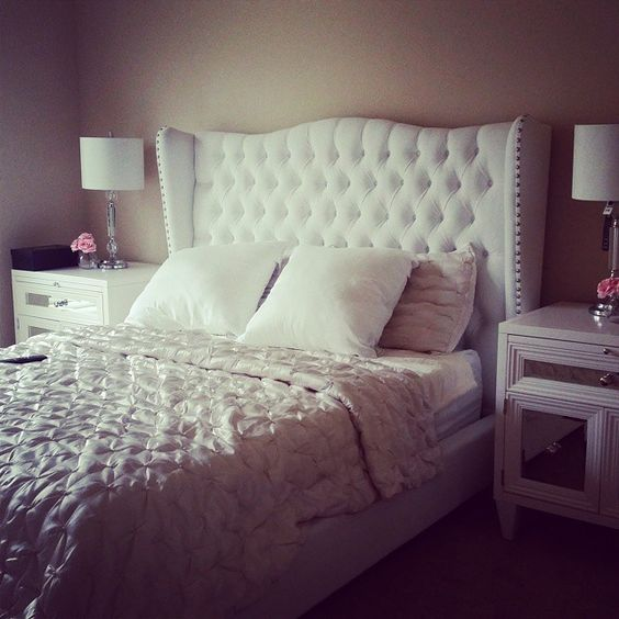 Dianna vu 39 s bedroom is gorgeous elegant with our for Z gallerie bedroom inspiration