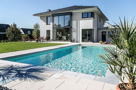 Moderne Stadtvilla mit Zeltdach - Tauber Architekten und - moderne gartengestaltung exklusiver