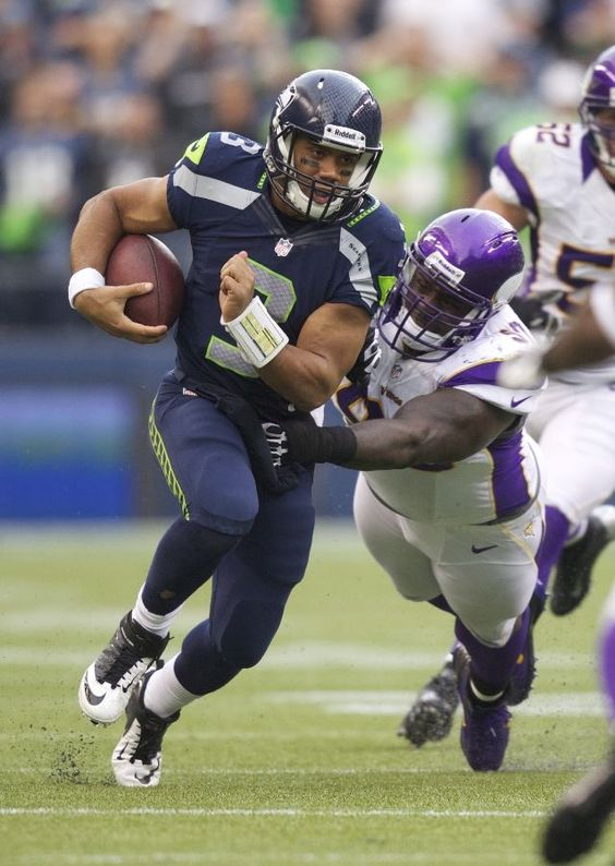 Seattle Seahawks - Russell Wilson. One of the best Scramblers in the NFL.