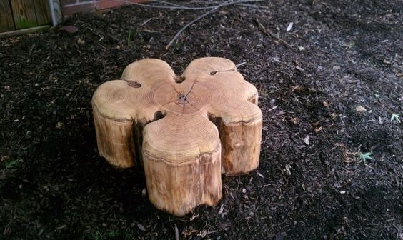 another lovely stump - also perfect for a small table