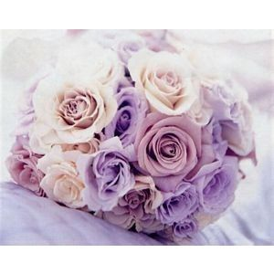 Romantic wedding bouquet <3 Gorgeous lilac colours! This is my have
