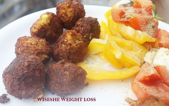 Low Carb Cauliflower & Cheese Bites - Low Carb Snacks - Indian Weight Loss Blog