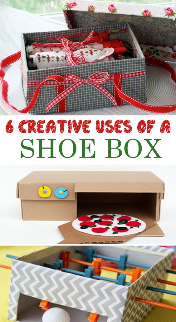 6 creative uses of a shoe box creative shoes and shoe box