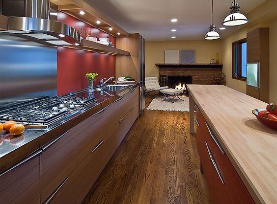 time kitchen by snaidero usa los angeles wood kitchen with, Kuchen deko