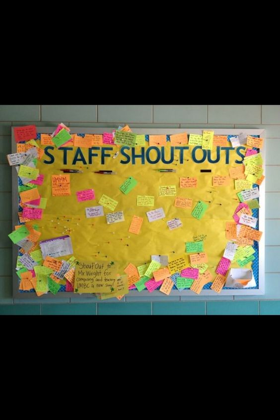 Bulletin boards, In the classroom and The classroom on ...