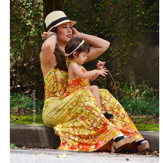 Moda tal mãe tal filha | Mamãe Plugada: