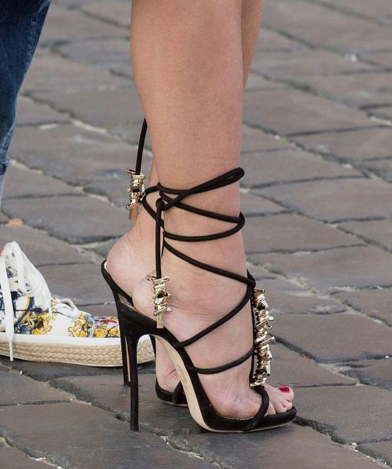 Beautiful Strappy Shoes