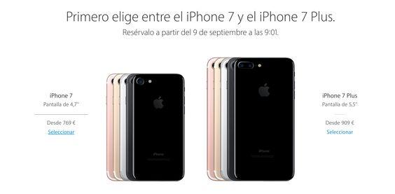 El iPhone 7 ofrece mejor rendimiento y mayor autonomía, incorpora altavoces…