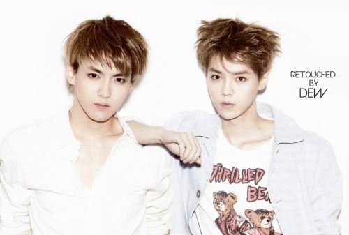 Exo Luhan and Kris- We'll miss you forever!!