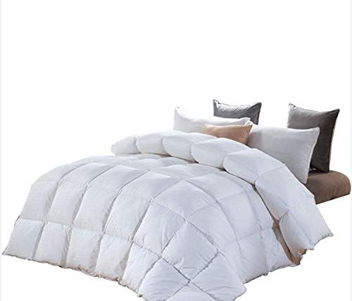 Hombys White Feather And Down Comforter King King Comforter Comforters White Comforter