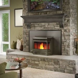 Fireplace Inserts Wood Insert And Fireplaces On Pinterest